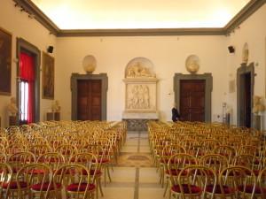 Sala della Protomoteca Palazzo del Campidoglio in Roma