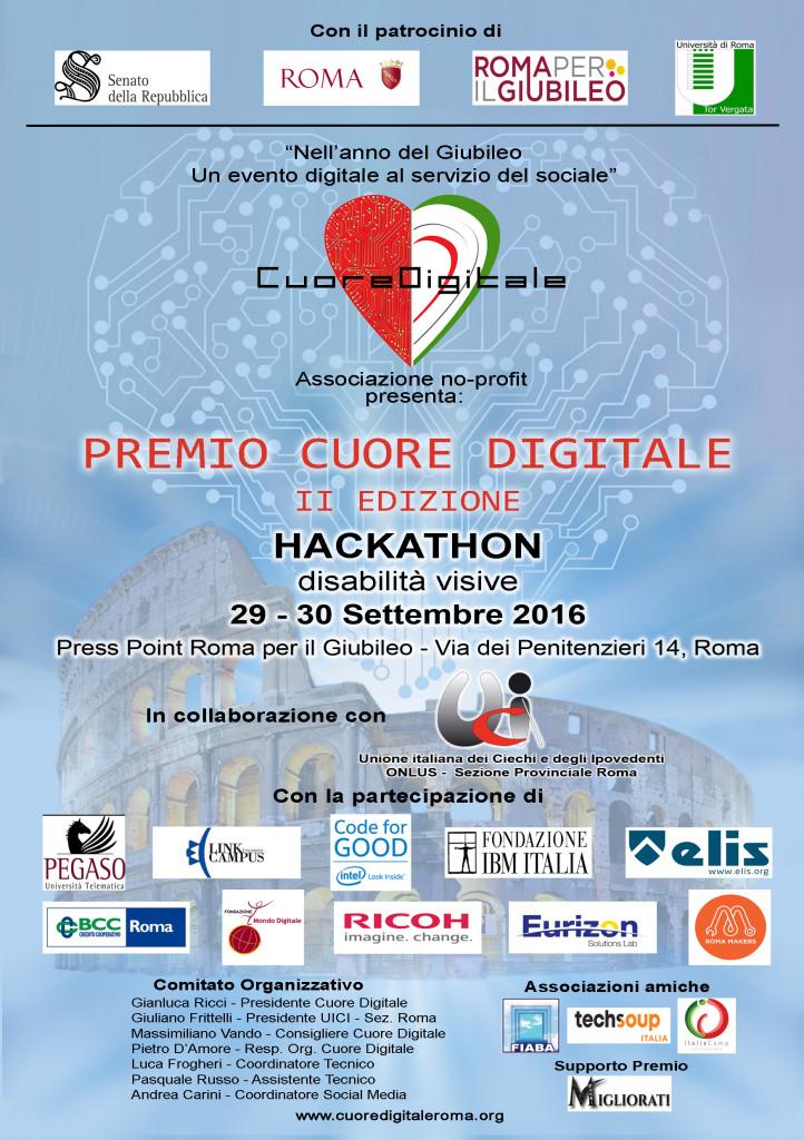 Locandina Premio Cuore Digitale